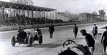 The Sports Archives Blog - The Sports Archives Greatest Moments - 1912 Indianapolis 500 Push to Finish