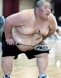 Sumo Badminton