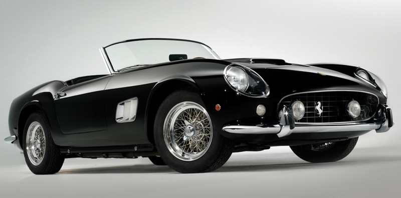 The Sports Archives Blog - The Sports Archives - The Ferrari 250 Supersports Car Series