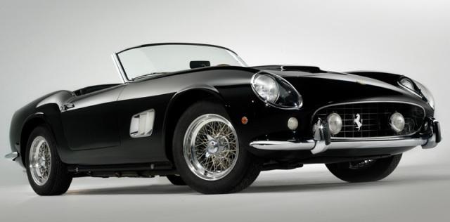 Black Ferrari 250