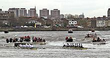 Rowing on River Thames
