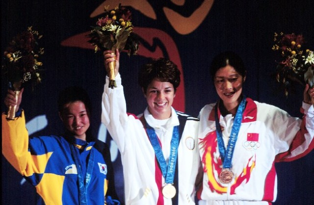 2000 Olympic First Medals