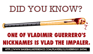The Sports Archives Blog - The Sports Archives - Vladimir Guerrero: Should You Pick Him Up?