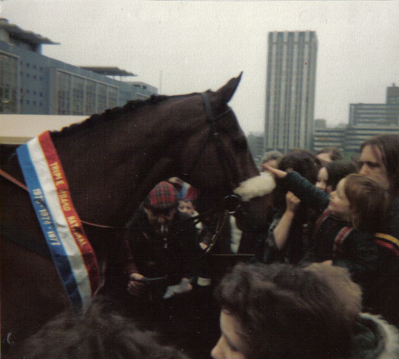 Red Rum at Castle Park Bristol 1980