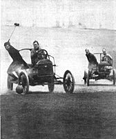 Auto Polo from Collier's Magazine