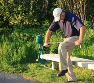 Golf Fustration