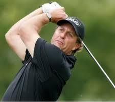 Left-Handed Golfer Phil Mickelson