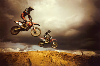 The Sports Archives Blog - The Sports Archives - Extreme Motocross - Three Challenges You Must Conquer!