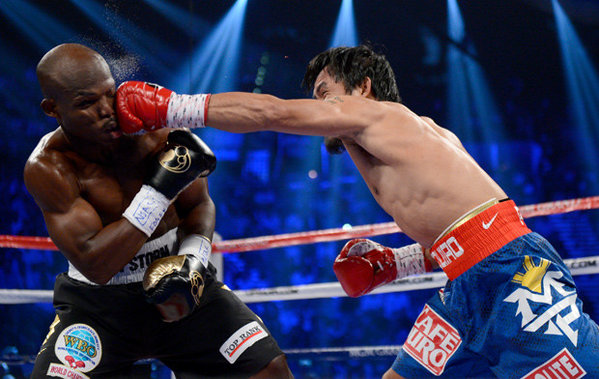 Pacquiao VS Bradley Results