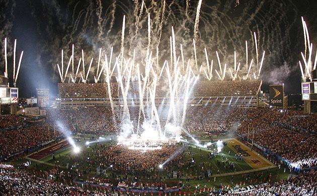 2009 Super Bowl Fireworks