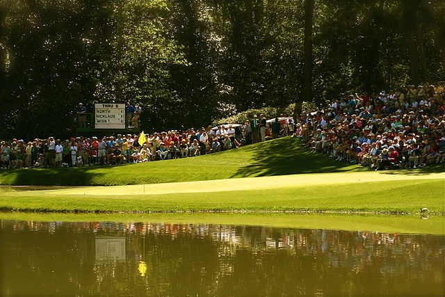 The Masters 9th Hole