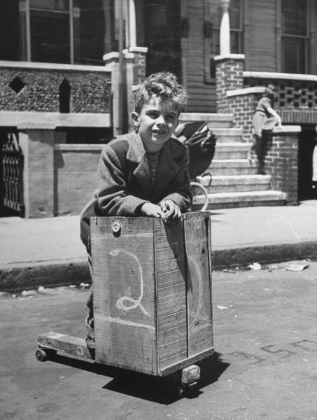 1947 Fruit Crate Skateboard