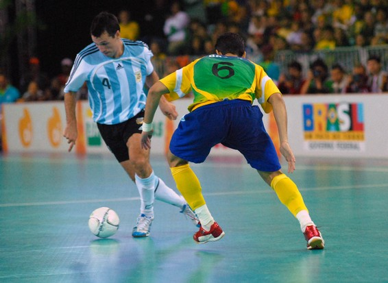 The Sports Archives Blog - The Sports Archives - Enjoy A More Skilled Approach To Football (Soccer) By Playing Futsal!