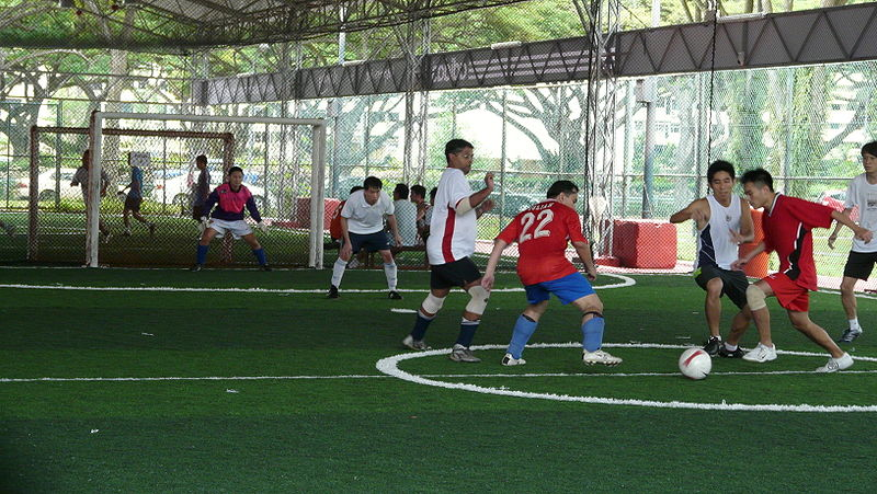 The Sports Archives Blog - The Sports Archives - Getting Fit by Playing Indoor Football (Soccer)!