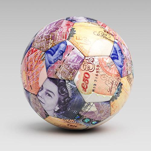 Money Soccer Ball