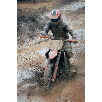 Motorcycle Mudding