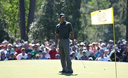 Tiger Woods at The Masters 2006