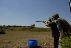 Clay Pigeon Shooting Lesson