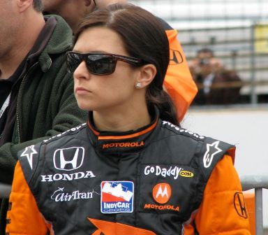 Danica Patrick 2009 Indy 500 Pole Day