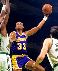 Los Angeles Lakers Kareem Abdul-Jabbar