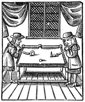 1674 Billiard Table