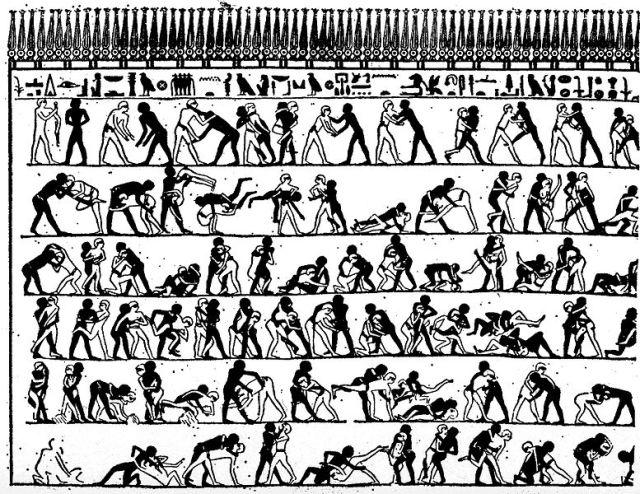 Wrestling - Egyptian Motion Series