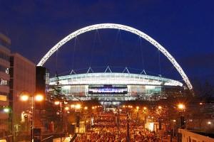 Wembley Stadium Illuminated