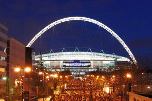 Wembley Stadium Illuminated