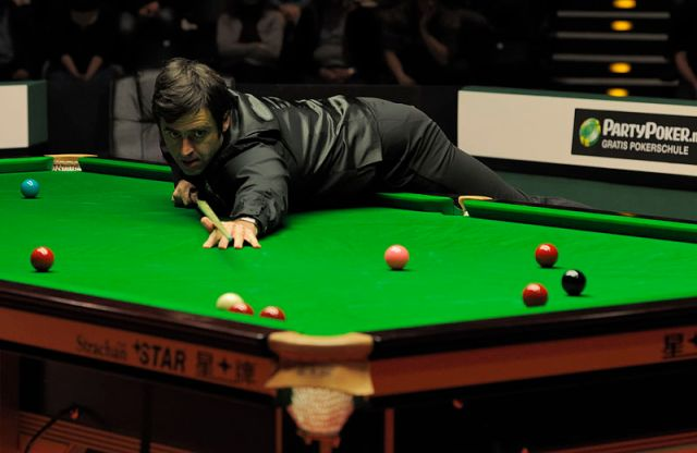 Ronnie O'Sullivan at German Masters Snooker Final
