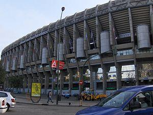 Santiago Bernabeu Stadium Front