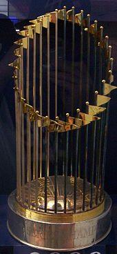 MLB World Series Trophy