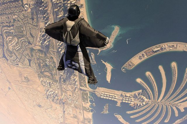 Dubai Wingsuit Flying Trip