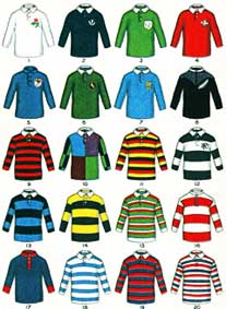 Famous Rugby Jerseys