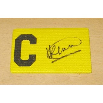 ronald koeman genuine hand signed autograph captains armband