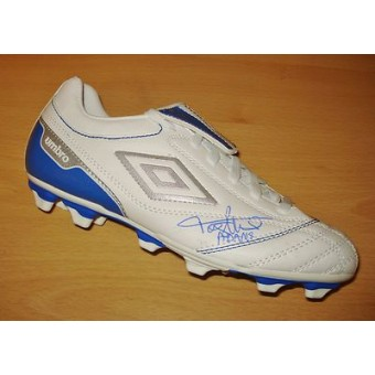 tony adams genuine hand signed soccer football boot