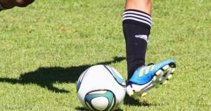 football (soccer) kick