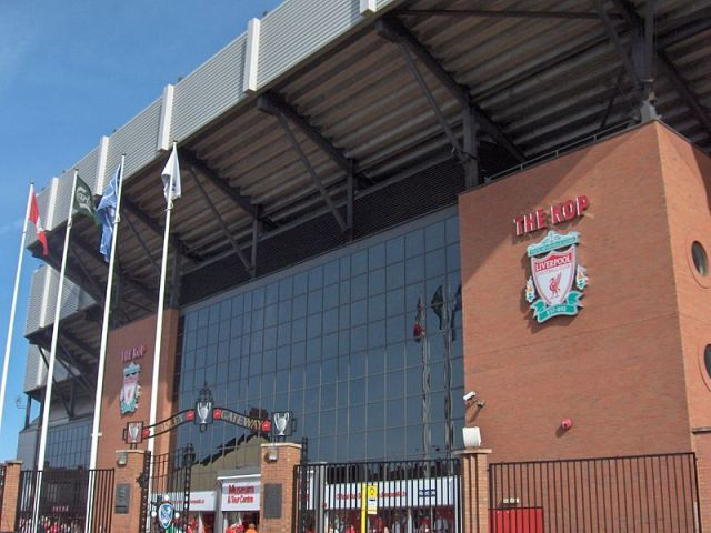 Kop of Anfield Liverpool