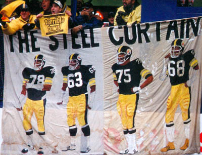Pittsburgh Steelers Steel Curtain Defense