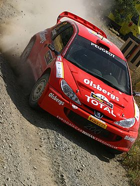 Daniel Carlsson - 2005 Cyprus Rally 2