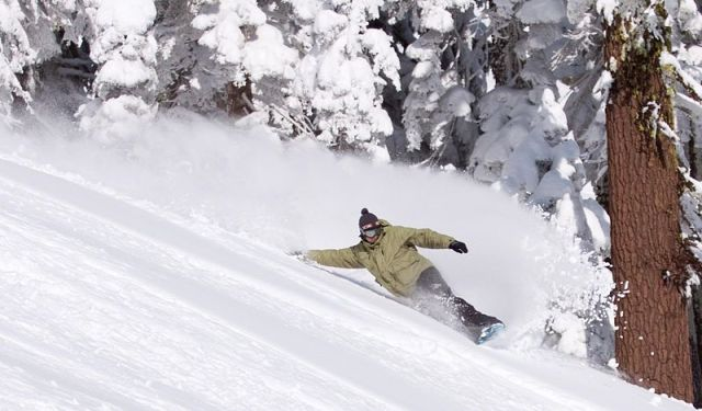 Snowboarding Slide