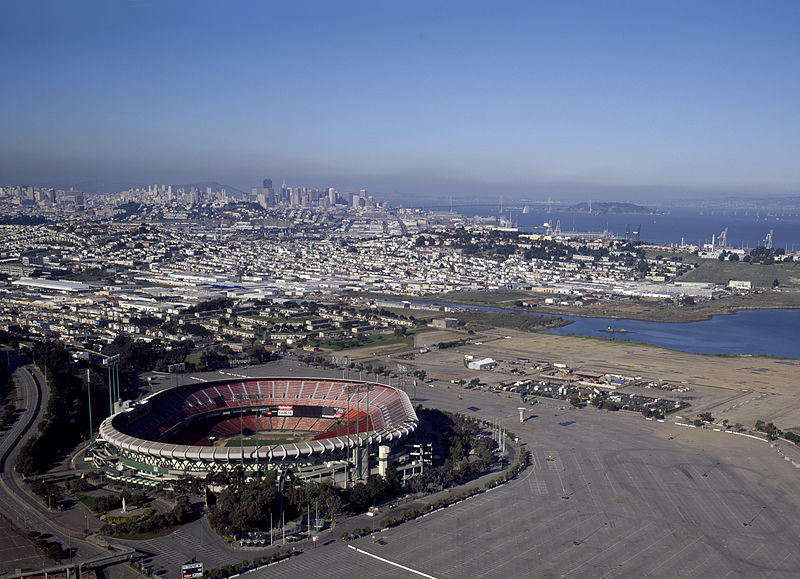 The Sports Archives Blog - The Sports Archives - Candlestick Park: Home Of The San Francisco 49ers!