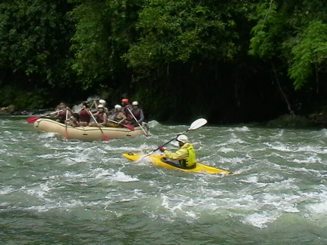White Water Kayaking and Rafting