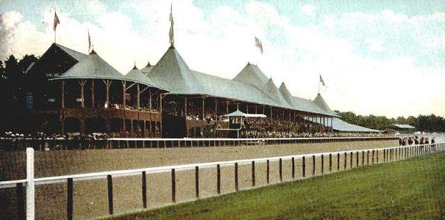 Saratoga Race Track 1907
