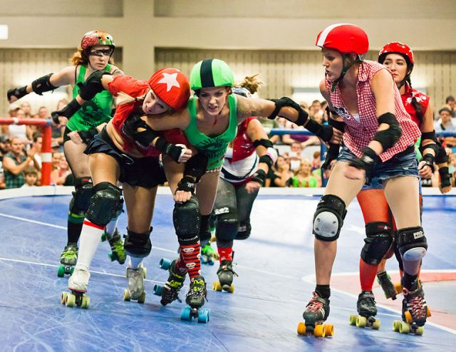 Texas Roller Derby Lonestar Rollergirls