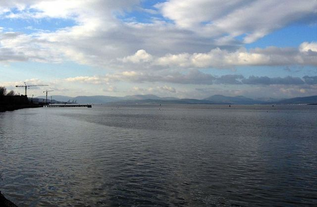 River Clyde at Port Glasgow