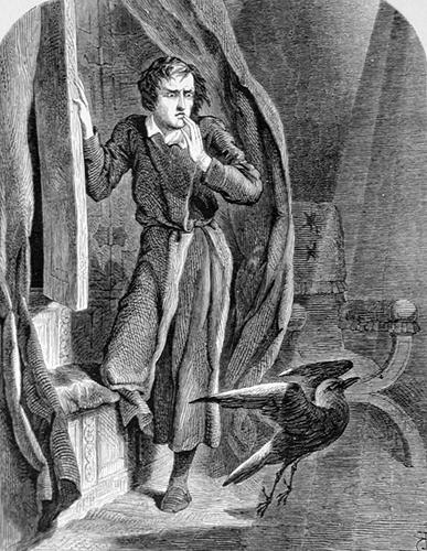 Tenniel - The Raven