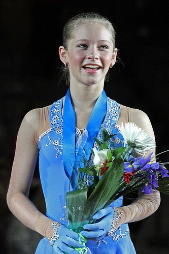 Julia Lipnitskaia of Russia
