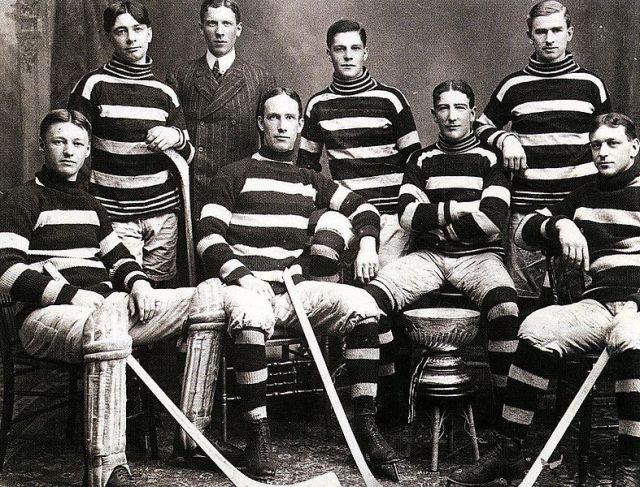 "The Ottawa Hockey Club ""Silver Seven"" (the original Ottawa Senators), 1905 Stanley Cup champions"