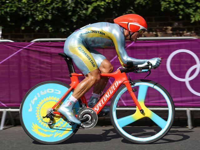 Alexander Vinokourov 2, London 2012 Time Trial - Aug 2012