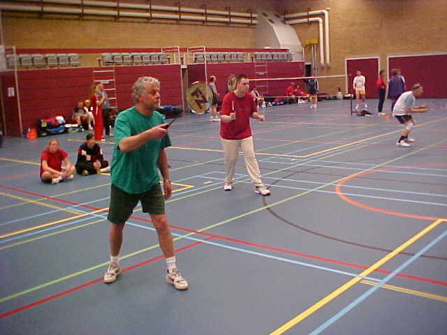 Badminton Men's Doubles